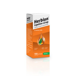 Herbion trpotčev sirup, 150 ml