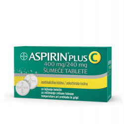 Aspirin plus C 400mg/240mg, 10 šumečih tablet