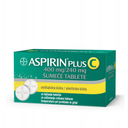 Aspirin plus C 400mg/240mg, 20 šumečih tablet