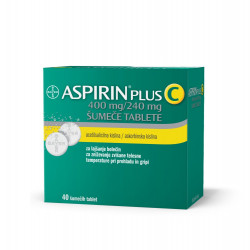 Aspirin plus C 400mg/240mg, 40 šumečih tablet