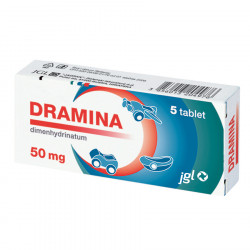 Dramina 50 mg, 5 tablet