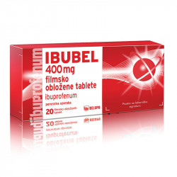 IBUBEL 400 mg, 20 filmsko obloženih tablet