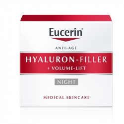 Eucerin Hyaluron-Filler+Volume-Lift nočna krema, 50 ml